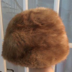 Accessories - Caramel mink hat
